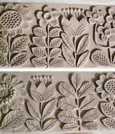 Dancing Kangaroo - The art of Galia Bernstein: Project Planter - ceramics Clay Tiles, Ceramic Clay, Ceramic Pottery, Ceramic Boxes, Ceramics Projects, Clay Projects, Clay Crafts, Ceramic Flowers, Clay Flowers