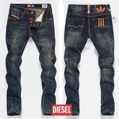 Diesel x Adidas mens jeans http://www.99wtf.net/young-style/urban-style/modern-mens-hat-style-urban-fashion-2016/