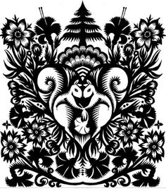 65 Ideas German Folk Art Tattoo Paper Cutting For 2019