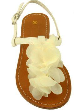 the perfect wedding sandal