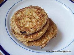 Squash Pancakes: yellow squash or sweet potato, walnuts, eggs, coconut oil
