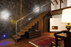 D-222   architectural stairs, stairs in steel, staircases in metal