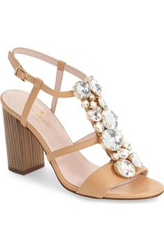 7e7ce468b5f2 kate spade new york  isabell  sandal (women) available at  Nordstrom Nude