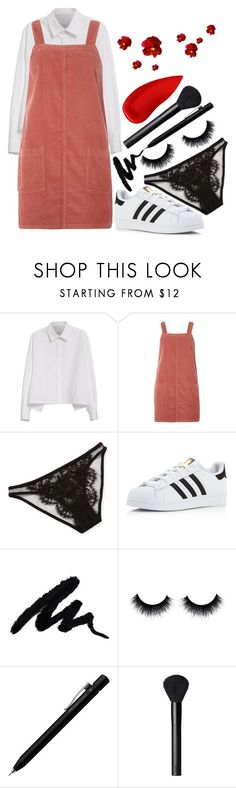 """doesn't mean our brains will change from hand grenades"" by thatemo-anons ❤ liked on Polyvore featuring Y's by Yohji Yamamoto, Dorothy Perkins, I.D. SARRIERI, adidas, Faber-Castell, NARS Cosmetics and Lipstick Queen"