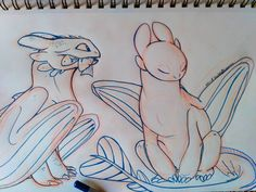 Should I color it? #httyd #httyd2 #httyd3 #toothless #whitefury #lightfury #dragons