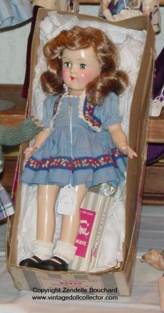 The Toni Doll ...my brother threw darts at her butt...LOL