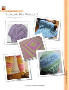 Impeccable Knits pattern - Impeccable Kids Collection 2 - our third collection of children's patterns :)