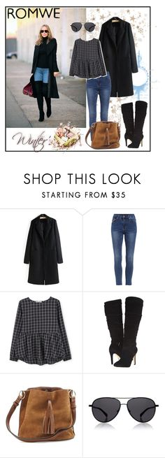 """""""Romwe 9"""" by aida-1999 ❤ liked on Polyvore featuring MANGO, GUESS and The Row"""