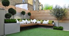 For sunny corner of garden   small garden urban home   Pinterest   Gardens, Cases and Eggs