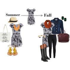 """Summer to fall"" by arstylists on Polyvore"