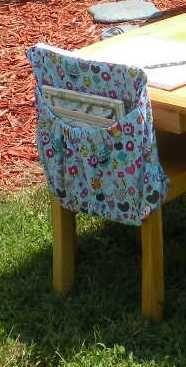 Classroom Organizer Chair Covers White Wood Dining Chairs 15 Best Images On Pinterest In 2018 Owl Print Kindergarten Size Cover Pocket Coffeekidsndolls Children S Artfire