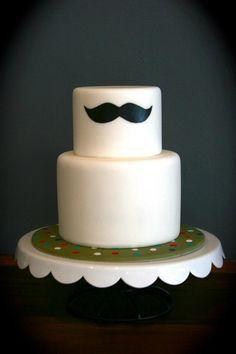 Cake with a mustache #tortaconibaffi #tortabaffo #tortamustache #lemiglioritortedisempre
