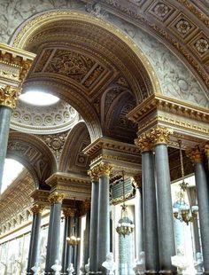 La Galerie des Batailles, Château de Versailles, Yvelines, France  pinterest   /lovecaitx/