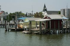 Tangier Island, Virginia in the Chesapeake Bay