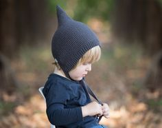 PDF Knitting Pattern to Knit Your Own Hat at Home Little
