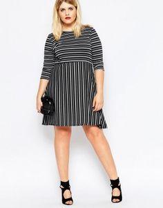 Kleid von Boohoo Plus, 28,99 €, gesehen auf asos.de