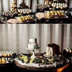 Cupcake Dessert Table   Charlotte NC wedding photographer