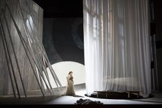 Norma. Washington National Opera. Scenic design by Neil Patel. 2013