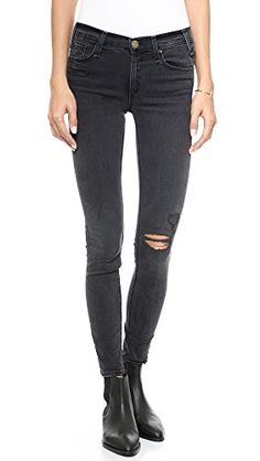McGuire Denim Women's Newton Skinny Jeans, Malachite with Shredded Knee, 27 >>> Check this awesome product by going to the link at the image.