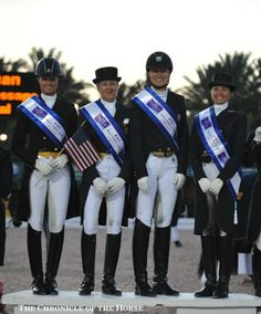 This just in. USA I Team takes top honors at the 2014 Wellington FEI Nations Cup Dressage! http://www.counter-canterculture.com/?p=2610