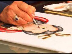 Fazendo Arte - pintura sobre apliquê 2 (14.10.13) - YouTube
