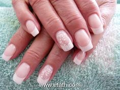 Wedding manicure option. so pretty!