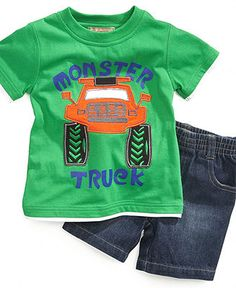 Kids Headquarters Baby Set, Baby Boys Tee and Shorts - Kids Baby Boy (0-24 months) - Macy's