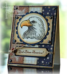"By Amy Sheffer. Uses stamps from ""In God We Trust"" by Our Daily Bread Designs."