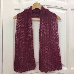 Silk Mohair Crochet Scarf, Wool Knit Shawl Wrap Stole Poncho, Aubergine Autumn Goat Shawlette, Sangria Lace Airy Colorful Soft Neckwarmer. This silk mohair crochet scarf is made of luxurious japanese super kid mohair and natural silk yarn and inspired by its tenderness and light #shrugsandcowls