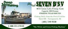 Seven B's Deep Sea Fishing #IBelieveInRI