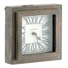 "7"" London Square Clock"