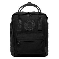 20b9a57539731 New Fjallraven Kanken No.2 Black Mini Backpack for Work