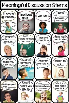 Crystal's Classroom: How to Build Meaningful Student-Led Discussion                                                                                                                                                                                 More
