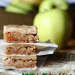 Apple+Toffee+Blondies -  made 10/2013 - replace some of the butter in the frosting with biscoff cookie butter