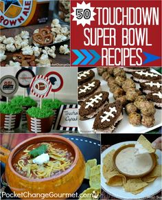 50 Super Bowl Recipes :: PocketChangeGourmet.com