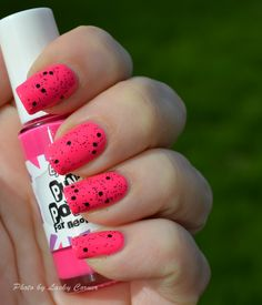 Hot Pink Nails   16 Eye Catching Nail Art ideas for Chick Look