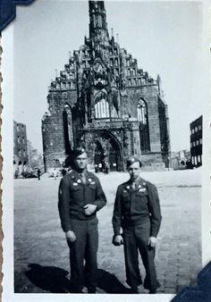 """96 year old """"Battle of the Bulge"""" vet (Frauenkirche, Nuremberg 1945)"""