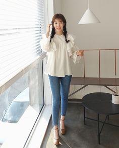 Dahong daily Soyeon style 2018. kokomi akane · Korean Casual Style