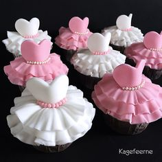 Tutu Ballet cupcakes