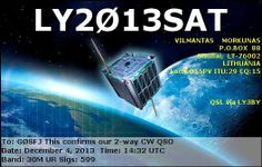 Lithuanian ham radio CubeSats launch next month | Stray Signals