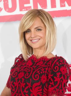 I love this cut! (long bob with sweepy bangs) I would never cut my hair this short though.