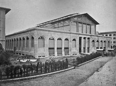 San Lorenzo Market, #Florence, about 1880