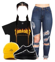 """""""Cigarettes on cigarettes"""" by queen-tiller ❤ liked on Polyvore featuring Puma"""