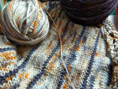 Xenia Shawl made with Sunshine yarns  Musing Crow Designs: Threads and Fibers