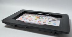 Black Acrylic Enclosure for Nexus Samsung Galaxy Tab and Asus MemoPad 10 Nexus 10, Tablet Mount, Digital Camera, Baby Items, Kiosk, Electronics, Wall Mount, Desktop, Samsung Galaxy