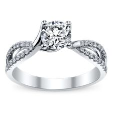 Side Stones Engagement Rings | Robbins Brothers