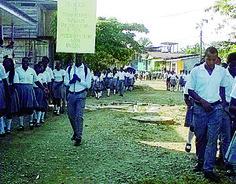 protesta estudiantes en guapi