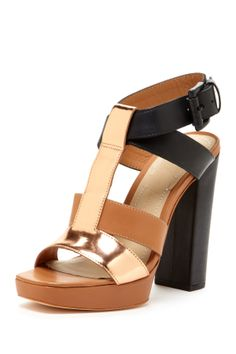 Elizabeth and James Sam Platform Sandals//