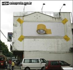 tape outdoor advertising