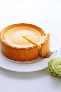 チーズタルト by ko~ko Cafe Food, Food Menu, Sweets Recipes, Desserts, Flan, Japanese Food, I Foods, Bakery, Cheesecake
